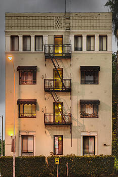 The Villa Rosa Apartments Building by Dan Kaufman