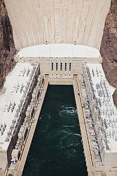 Hoover Dam And Lake Mead Usa by Bryan Mullennix
