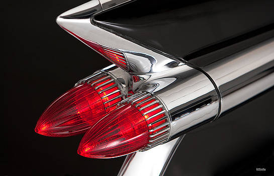 59 Cadillac Tail Light by Kevin Moody