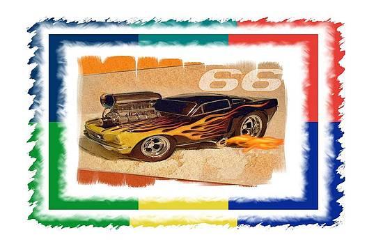 66 Mustang by Gra Howard