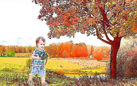 A Blissful Child by Viveka Singh