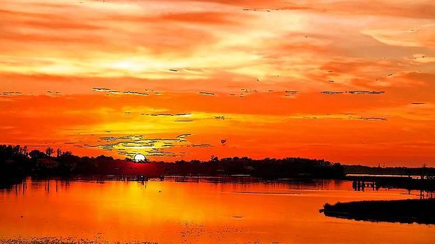 A Blissful Sunrise by Viveka Singh
