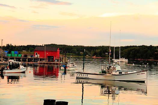 A Burnt Coat Harbor Sunset by Doug Mills