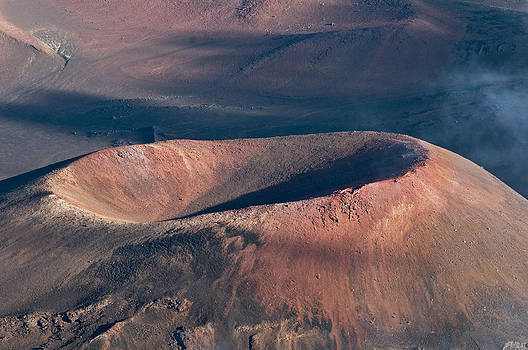 A Closer Look at Dormant Volcano by Alina  Oswald