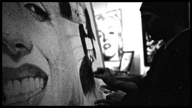 A Fine Artist At Work by Adrian Pickett by Kirk Ols
