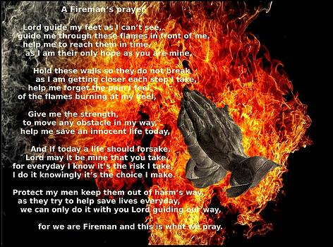 A Fireman's Prayer by Nicole Champion