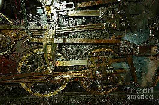 A Part Of An Old Steam Engine by Jiss Joseph