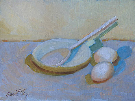 Diane McClary - A Study in White