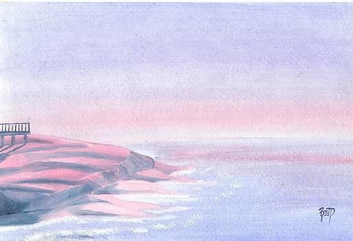 Robert Meszaros - a sunrise in paradise...