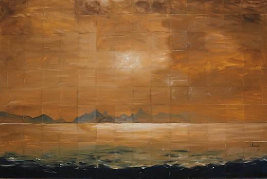 A Sunset Mosaic - Rio de Janeiro by Silvia Lemos