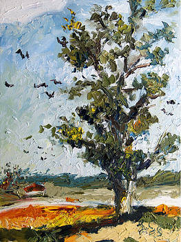 Ginette Fine Art LLC Ginette Callaway - A Tree On My Way