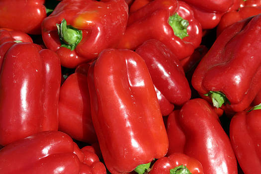 Michael Ledray - A trip through the farmers market featuring Red Bell Peppers