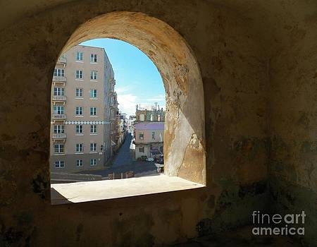 A View to Old San Juan by Melanie Snipes