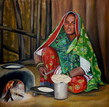 A Village Woman by Romi Soni
