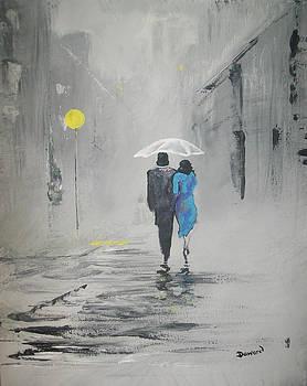 A Walk in the Rain by Raymond Doward