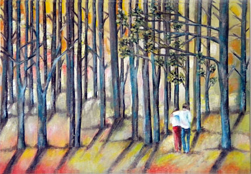 A Walk Through the Forest by Miriam Besa