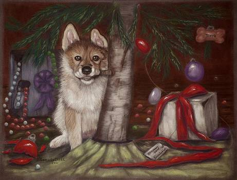 A Wolf cub Christmas by Teresa LeClerc
