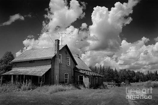 Abandoned Farm House- Rural Haunts- Hastings County Ontario by Mark Clifford