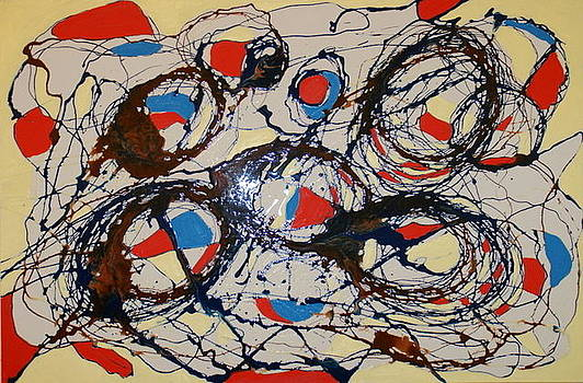Abstract 46 by Sandra Conceicao