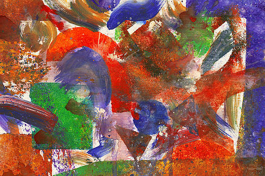Mike Savad - Abstract - Acrylic - Synthesis