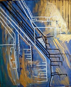 Abstract art 2 by Ignatescu Isabela