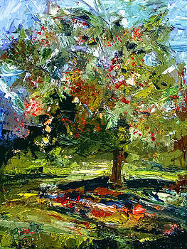Ginette Fine Art LLC Ginette Callaway - Abstract Cherry Tree