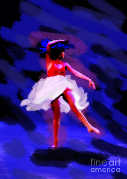 Abstract Dancer by Val Armstrong