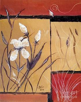 Abstract Flowers by Bonnie Schallermeir