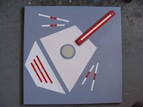 Abstract II by Wal Jarosz