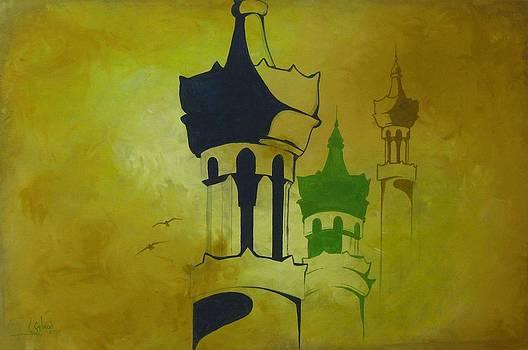 Abstract Islam by Salwa  Najm