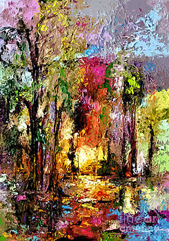 Ginette Fine Art LLC Ginette Callaway - Abstract Landscape Wetland Nature Scene