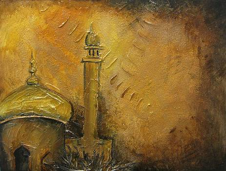 Abstract Mosque by Salwa  Najm