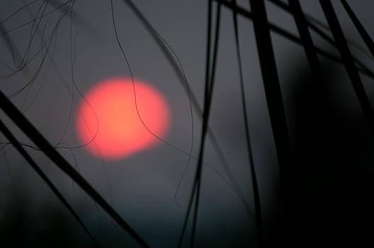 Abstract Sunset by Christine Stonebridge