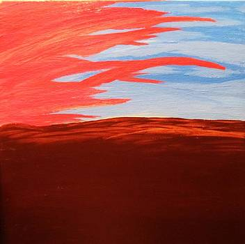 Abstract Sunset by Tyler Martin