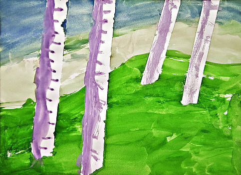 Abstract Trees by Susan Leggett