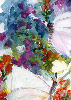 Ginette Callaway - Abstract Wildflowers and Butterflies