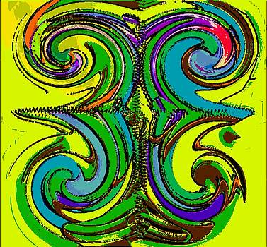 Abstracto del Lunes 2 by Rod Saavedra-Ferrere