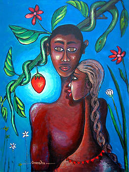 Adam And Eve by Omenihu Amachi