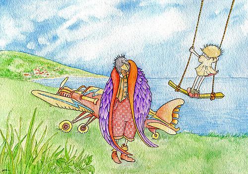 Aerodrome Crow by Susan C Mills
