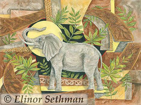 African Fantasy by Elinor Sethman