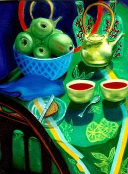 Afternoon Tea by Eliezer Sobel
