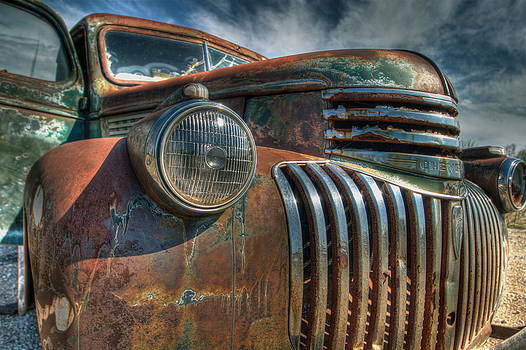 Aged Face II by Terry Hollensworth-Rutledge