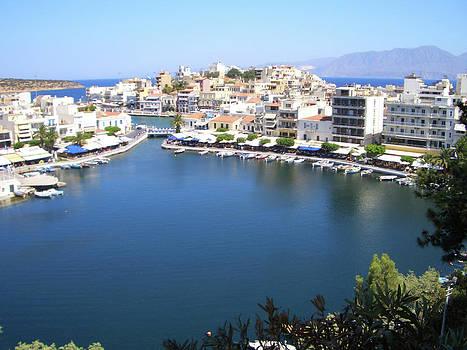 Agios Nikolaos Crete by Alison Quine