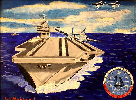 Bill Hubbard - Aircraft Carrier Eisenhower