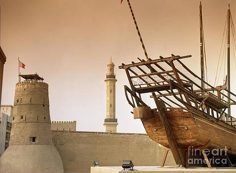 Al Fahidi Fort- Dubai by Lawrence Costales