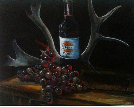 Alaska wine by Scott Thompson
