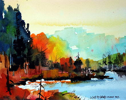 Algonquin Colours by Wilfred McOstrich