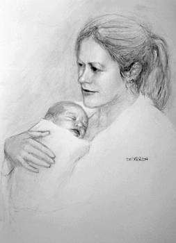 Alison and daughter by Tim Parrish