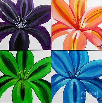 All 4 lilies by Dawn Plyler