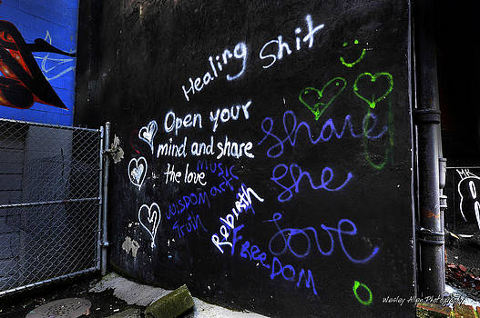 Alley Art 1 by Wesley Allen Shaw
